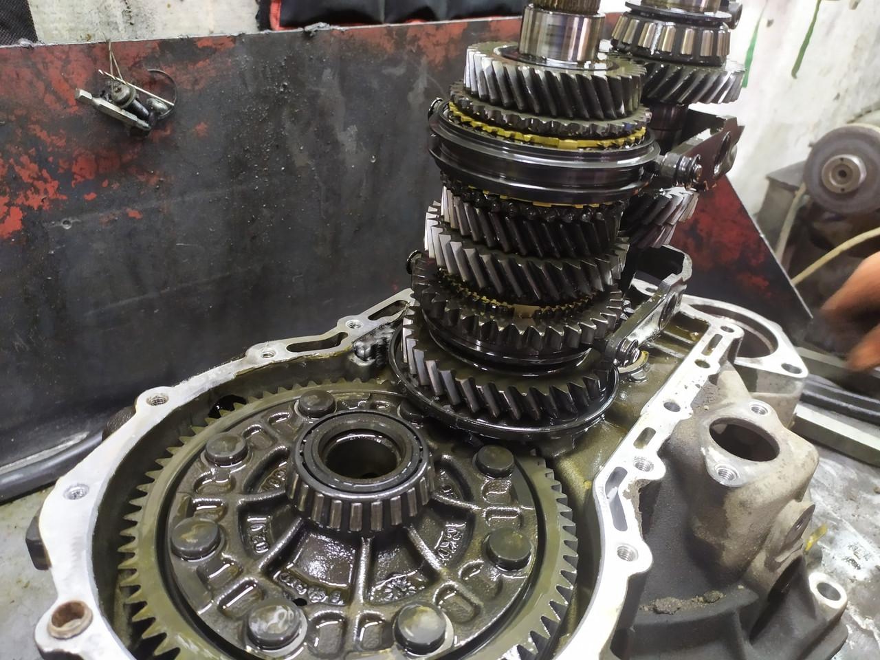 Диагностика и ремонт коробки передач Chevrolet Вида