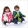 Велика лялька реборн 60 см..Двійнята реборн Reborn doll.Арт.04883