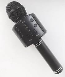 Беспроводной караоке микрофон Wster WS 858 Черный 69, КОД: 395845