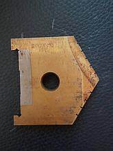 Пластина к перовому сверлу (перо) D  60 мм (2000-1245) Р6М5  Орша