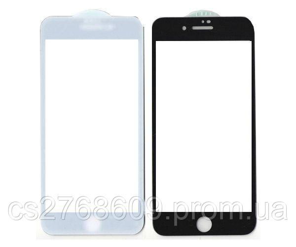 Защитное стекло захисне скло iPhone 7 Plus, iPhone 8 Plus чорний повна проклейка