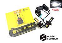 Светодиодные LED Лампы GS F3 H4 10000Lm 6000K