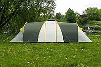 Палатка туристическая presto nadir 8 зеленая, клеенные швы, 3500 мм