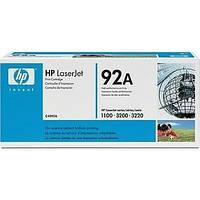 Лазерный картридж HP 92A черный (C4092A) оригинальный