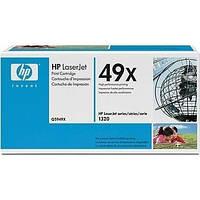 Лазерный картридж HP Q5949X (49x) LaserJet 1320/3390 черный оригинальный
