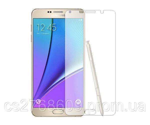 Защитное стекло захисне скло Samsung Note 5, N920 чорний