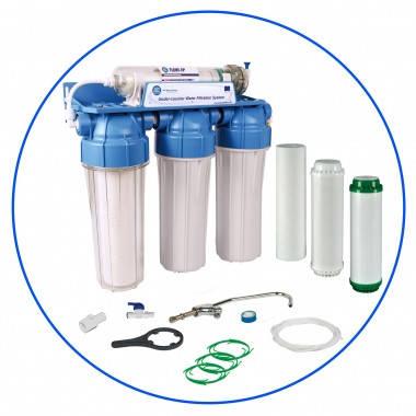 Aquafilter FP3-HJ-K1 4 ступенч. система ультрафильтрации под мойку, фото 2