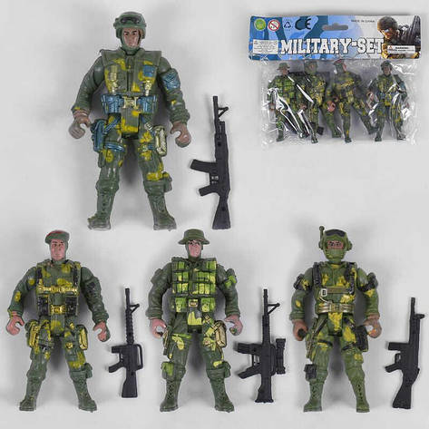 Набор солдатиков 914 - A7 (360) 4 штуки в кульке, фото 2