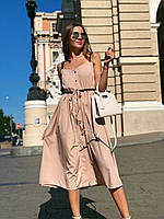 Платье софт,бретели репс,3 цвета,42-44,44-46