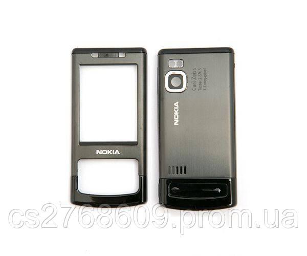 "Корпус ""А-клас"" Nokia 6500 Slide сірий"