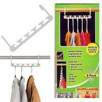 Вешалка органайзер для одежды в шкаф Magic Hanger
