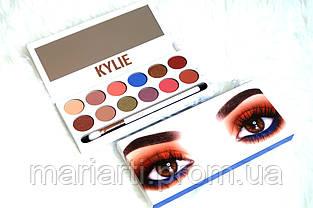 Тени для век Kylie The Royal Peach Palette 12 цветов, фото 3