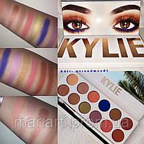Тени для век Kylie The Royal Peach Palette 12 цветов, фото 2
