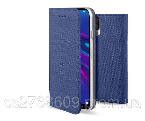 Чехол книжка Flip Cover Samsung G850 темно синій