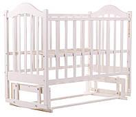 Кровать Babyroom Дина D201 Белый 60818, КОД: 1704858