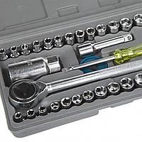 Набор торцевых головок с трещоткой AIWA 40 Pcs Combination Socket Set