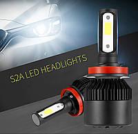 Автомобильная светодиодная фара LED F7 H4 Передняя лампа