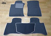 Коврики на Toyota LC Prado 120 '03-09. Текстильные автоковрики