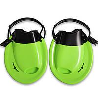 Ласты для брасса резиновые с открытой пяткой Mad Wave Positive Drive Зеленый (СПО M074101) 35 - 39