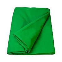 Фон тканевый для фотостудии 1.5 х 3 м Зеленый R0550, КОД: 1636670