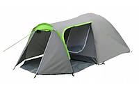 Палатка туристическая Presto Acamper Monsun 3 серая, 3500 мм, клеенные швы