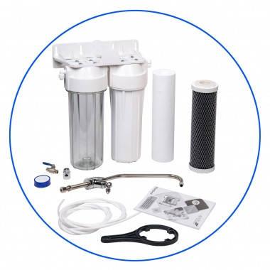 Aquafilter FP2-W-K1 Фильтр для воды, 2 ступени фильтрации, фото 2