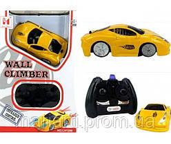 Антигравитационная машинка Wall Climber Car P801 желтая, фото 2