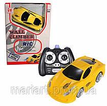 Антигравитационная машинка Wall Climber Car P801 желтая, фото 3