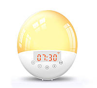 Световой будильник-ночник Noku Smart Sunrise Имитация восхода солнца Белый SW200, КОД: 1754427
