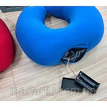 Массажная подушка Neck Massage Cushion - дорожная подушка, фото 3