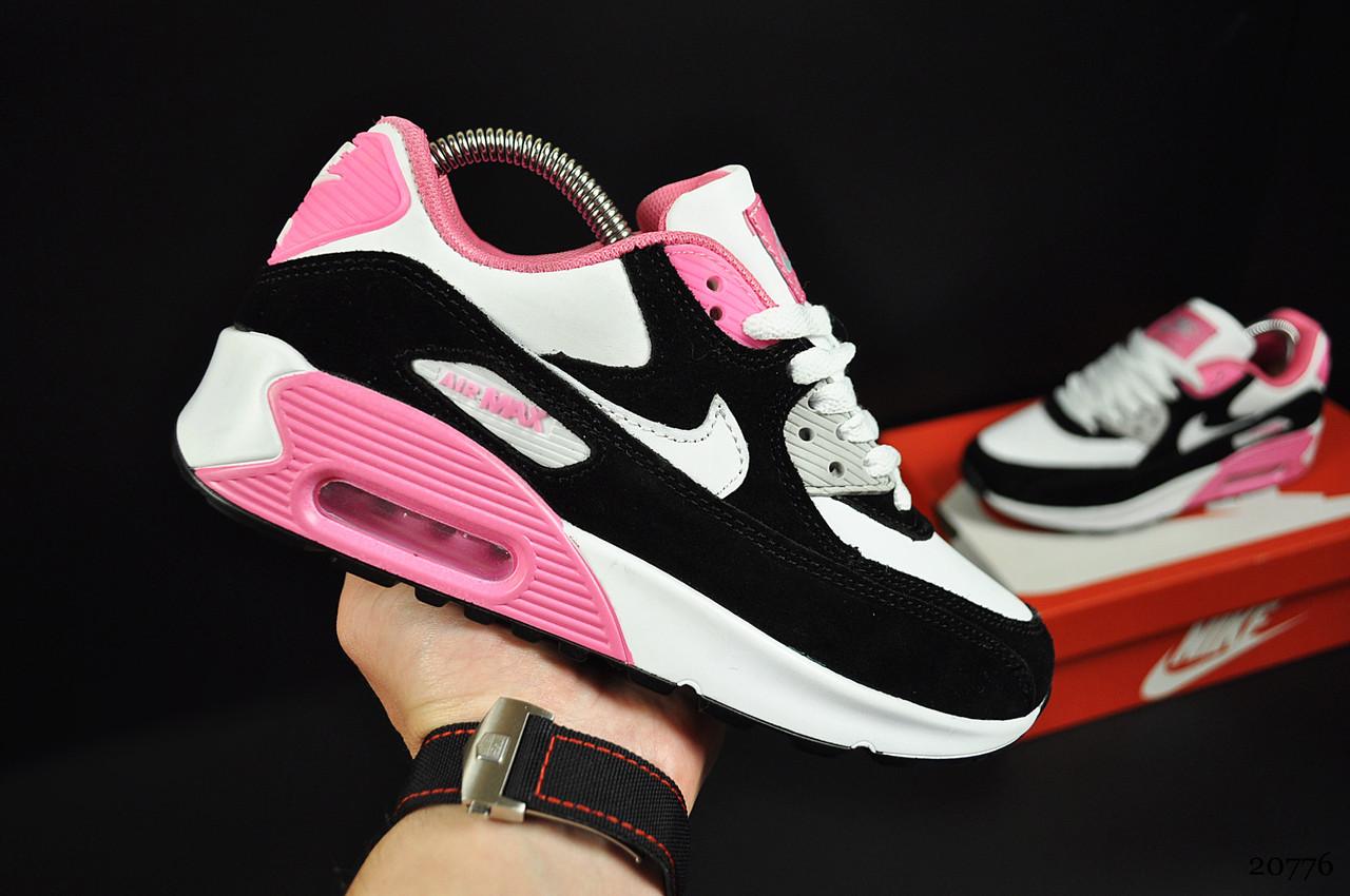 Кроссовки Nike Air Max 90 арт 20776 (женские, найк)