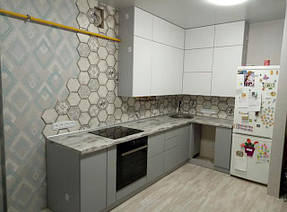 Кухня в стиле минимализм_фото