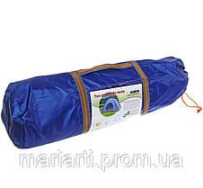 Палатка с автоматическим каркасом четырехместная синяя, фото 2