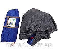 Палатка с автоматическим каркасом четырехместная синяя, фото 3