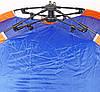 Палатка с автоматическим каркасом четырехместная синяя, фото 6