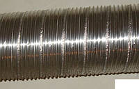 Гофрированная труба из нержавейки Dн115 (длина 1м)