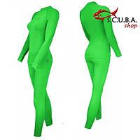 Теплое термобелье для женщин RADICAL Woman Rock Green