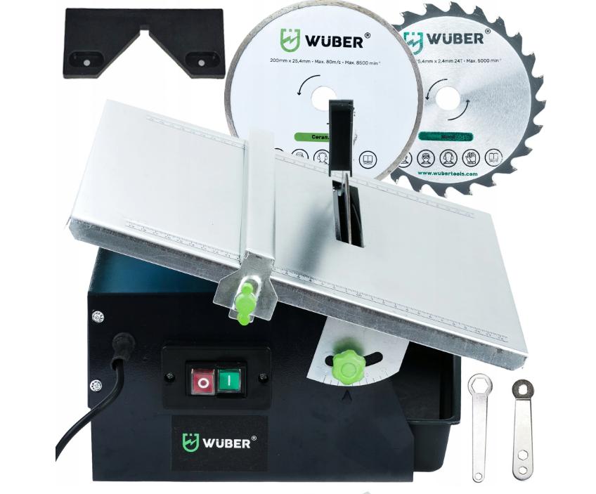 Плиткорез электрический водяной Wuber | диск + пила в комплекте