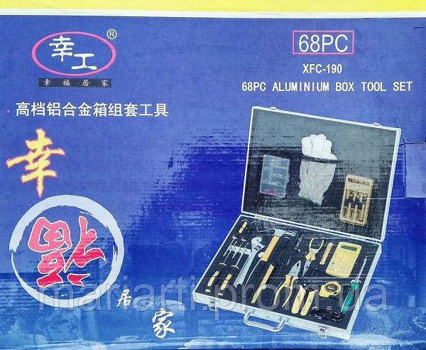 Набор инструментов XFC-190/AN-68РС/15х5х63