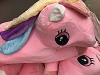Детская игрушка -подушка единорог с простынью
