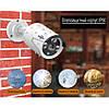 Комплект видеонаблюдения 4K POE Hiseeu POEKIT-4HB615 4 камеры 5MP и регистратор + провода и все для монтажа, фото 4
