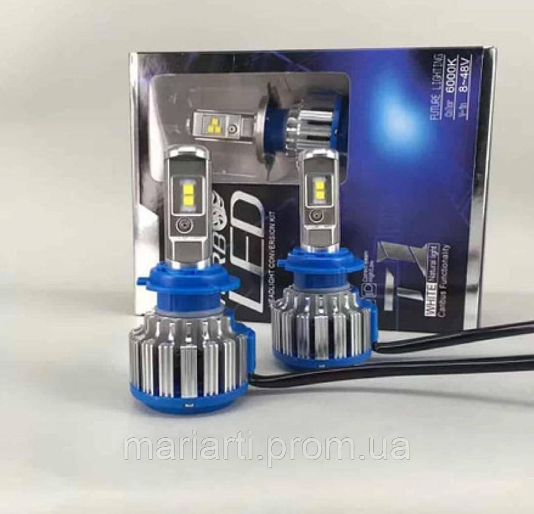 Автолампа LED H7 T1 Turbo LedSolution 3600LM, 6000K, 12V