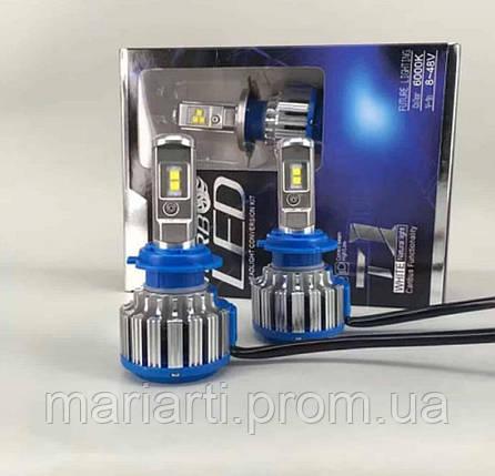 Автолампа LED H7 T1 Turbo LedSolution 3600LM, 6000K, 12V, фото 2