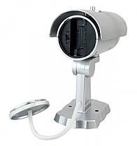IP Камера PT-1900 муляж камеры наружного наблюдения белая, фото 2