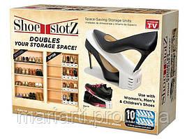 Подставка для обуви Shoe Slots Space-Saving Storage Units