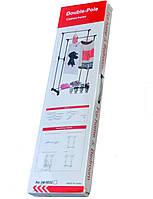 Телескопическая вешалка для одежды Double Pole TM-0023
