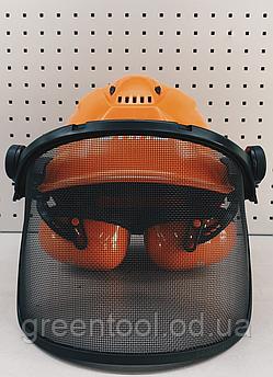 Шлем Dynemic X-ERGO с наушниками и металической сеткой