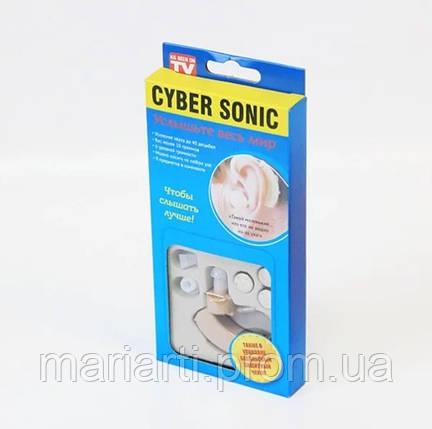 Слуховой аппарат CyberSonic усилитель слуха, фото 2
