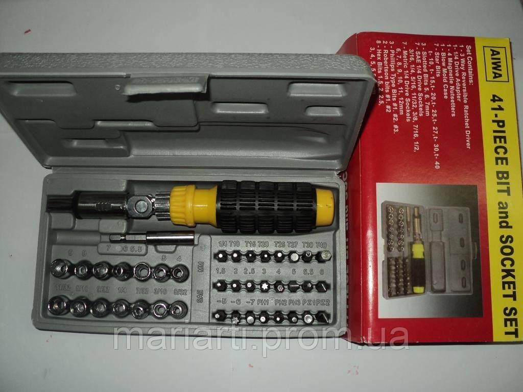 Набор инструмента AIWA 41-Piece Bit