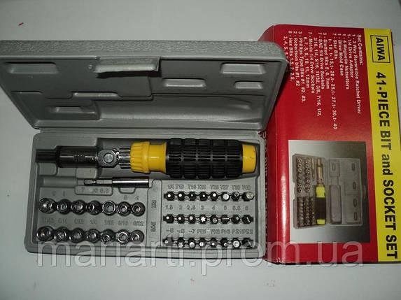 Набор инструмента AIWA 41-Piece Bit, фото 2